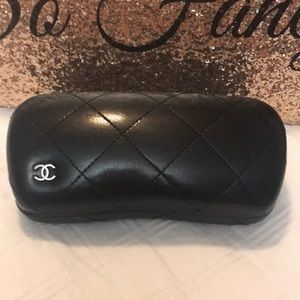 Authentic Chanel Large Sunglass Case